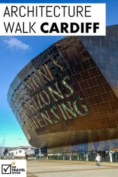 Love architecture? Looking for something to do in the United Kingdom that's not in London? Heres a great Walking Tour of Cardiff Bay Architecture in Wales | The Travel Tester:
