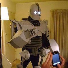This beautiful recreation of The Iron Giant. | 24 Halloween Costumes That Will Make You Do A Double Take