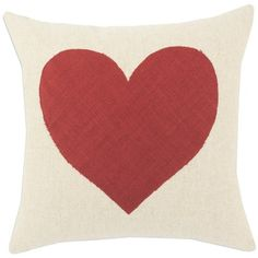 this adorable heart pillow from joss + main was my inspiration for valentine decorating this year! #jossandmain #valentine http://www.jossandmain.com/invite/tomkatstudio