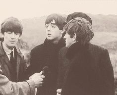 Beatles gif too cute ♥︎ Smile :D