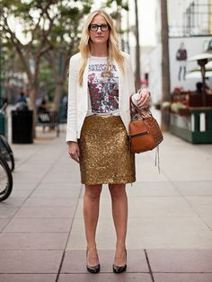 detailed pencil skirt casual t-shirt structured jacket