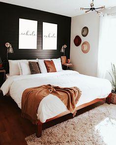 Mid Century Modern Bedroom Design Ideas « Home Decoration - Home Design Home Staging, Mid Century Modern Bedroom, Home Design, Design Ideas, Wall Design, Diy Design, Design Trends, Floral Design, Home Bedroom