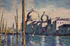 Venise, Grand Canal (d'après Claude Monet) de la boutique TableauxFPolisano sur Etsy