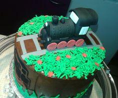 Little train cake - kleine Lokomotiven-Torte