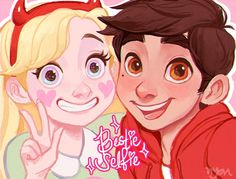 Star and Marco Jackie Lynn Thomas, Star Wars, Disney Xd, Blood Moon, Starco, Star Butterfly, Star Vs The Forces Of Evil, Force Of Evil, Beautiful Drawings