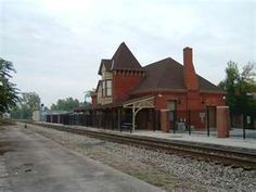 Old Train Station Lima, Ohio. I took a train from here as a child with my grandmother.