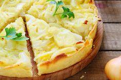 recette de Tarte aux oignons