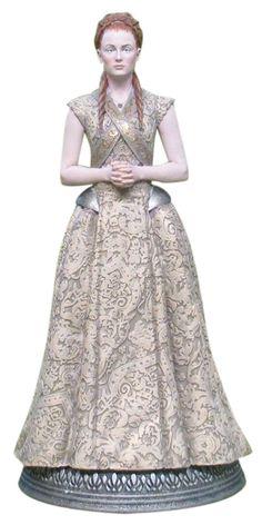 Sansa Stark Figurine Game Of Thrones Merchandise, Sansa Stark, Cosplay Costumes, Fandoms, Clothes, Dresses, Image, Fashion, Figurine
