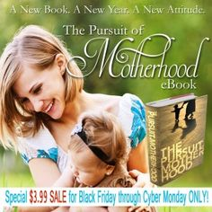 The Pursuit of Motherhood eBook Giveaway @ the Modest Mom