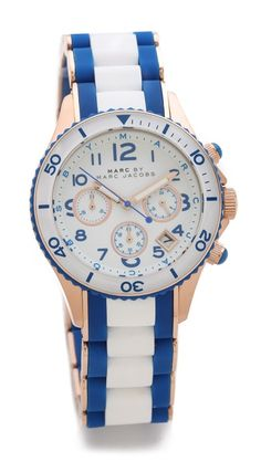 Marc by Marc Jacobs Rock Chrono Watch--- love and want