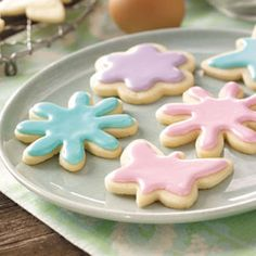 Pastel Tea Cookies Recipe from Taste of Home