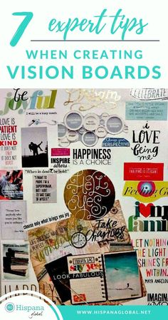 7 Expert Tips When Creating Vision Boards - Hispana Global Online Parenting Classes, Best Parenting Books, Parenting Goals, Parenting Hacks, Pinterest Vision Board, Parenting Strong Willed Child, Creating A Vision Board, Creative Visualization, Inspire Others