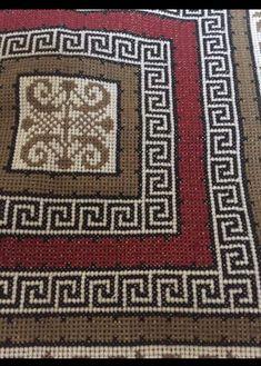 Bohemian Rug, Folk, Cross Stitch, Patterns, Rugs, Toss Pillows, Embroidery, Block Prints, Farmhouse Rugs