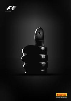 Pin by bita bahmanpour on creative marketing ads creative, print ads, creat Creative Poster Design, Ads Creative, Creative Advertising, Advertising Design, Advertising Poster, Marketing And Advertising, Visual Metaphor, Guerilla Marketing, Pirelli Tires