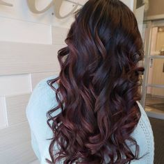 11 Amazing Examples of Black Cherry Hair Colors color cherry coke 34 Sweetest Caramel Highlights on Light & Dark Brown Hair Cherry Coke Hair, Cherry Brown Hair, Black Cherry Hair Color, Cherry Hair Colors, Brown Blonde Hair, Hair Color Dark, Cool Hair Color, Dark Hair, Black Cherry Highlights