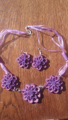 Quilling jewellery by 172521 on Etsy