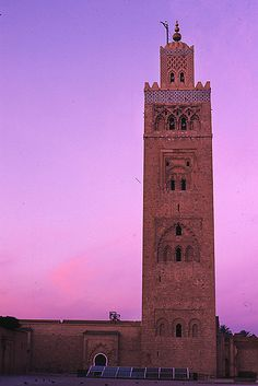 Minaret, Marrakesh, Morocco