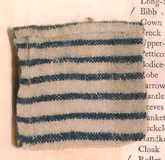 Another typical coarse linen token, left with girl Beach Cafe, Cloak, 18th Century, England, Museum, Textiles, London, Mantle, Cape