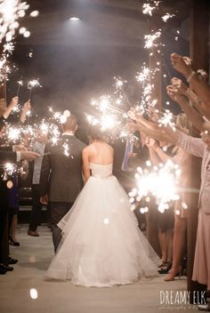 evening night wedding send off with sparklers, outdoor fall october wedding photo, blush and gray wedding, balmorhea weddings and events, dreamy elk photography and design, austin texas wedding photographer #OctoberWeddingIdeas