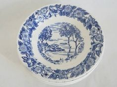 Egersund 5 dype tallerkener Dinnerware, Retro Vintage, Decorative Plates, Tableware, Kitchen, Home Decor, Dinner Ware, Cooking, Decoration Home