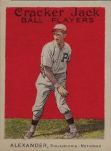 1915 Cracker Jack (E145) #37 Grover Cleveland Alexander Front