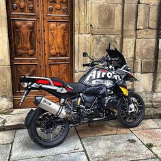 Airoh branded BMW 1200 Gs