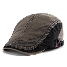 Men Women Retro Cotton Beret Cap Casual Forward Peaked Hat Cheap - NewChic  Mobile Stylish Hats a17630ad3449