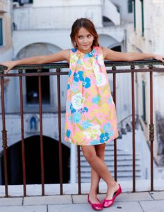 Summer Printed Dress 33305 Dresses at Boden