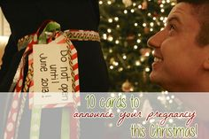 10 Cards To Announce Your Pregnancy This Christmas!