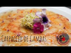 Como hacer carpaccio de gambas [comida mediterránea] *facil* - YouTube Oatmeal, Breakfast, Youtube, Food, Mediterranean Food, Healthy Food, Sprouts, How To Make, The Oatmeal