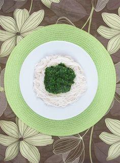 Rýžové nudle se špenátem - DIETA.CZ