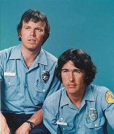 """Emergency!"" Randolph Mantooth (right) is of Seminole and German descent. His surname is a hint, but a lot of people probably didn't realize he's part Native American."
