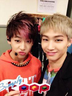 GOT7 Bambam & JB | Simply Kpop