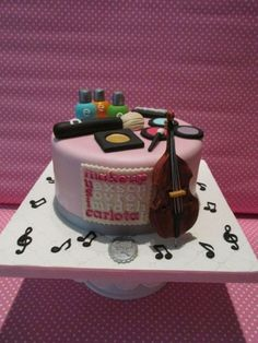 Music&Makeup - For a 20 year old girl with two passions | Chocolate Mud Cake.