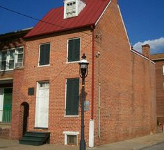 Edgar Allan Poe House, Baltimore, Maryland