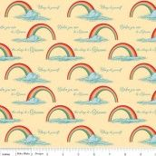 Riley Blake - Unicorns & Rainbows Poster Yellow