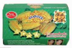 Asantee Carambola (STAR FRUIT)  Beauty Thai Soap 135g./4.6oz.       `USASELLER #Asantee