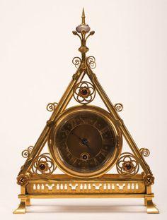 Art Movement Mantle Clock (c. 1870)