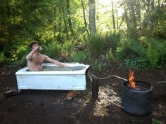Dirtbag's Guide to Building a Backcountry Hot Tub | Teton Gravity Research