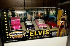 "Elvis ""Favorite Cars"" Matchbox Collectibles"