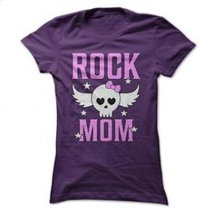 Rock Mom Cute Metal T Shirt - #womens hoodies #champion sweatshirt. ORDER HERE => https://www.sunfrog.com/Music/Rock-Mom-Cute-Metal-T-Shirt-Purple-Ladies.html?id=60505