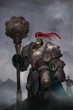 New Fantasy Warrior Concept Art Illustrations Ideas Fantasy Character Design, Character Design Inspiration, Character Concept, Character Art, Fantasy Races, Fantasy Armor, Fantasy Fighter, Anime Art Fantasy, Dnd Characters
