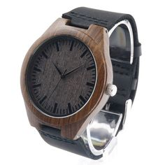 aab707c06b6 Bobobird RT0442 Men s Design Brand Luxury Wooden Bamboo Watches With Real  Leather Quartz Watch in Gift