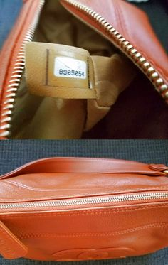 Authentic CHANEL Vintage CC Logo Leather Chain Handbag $630.0