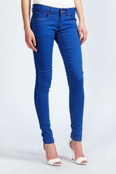 Demi 70's Super Skinny Jeans at boohoo.com