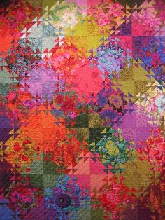 Shimmer quilt by Kitty Sorgen