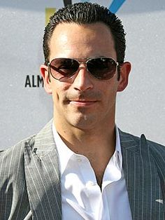 Helio Castroneves -great Indy driver, also great dancer (Dancing with Stars)