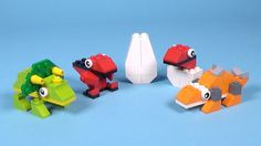 How To Make Lego BABY DINOS - 10664 Lego Bricks and More Creative Tower ...
