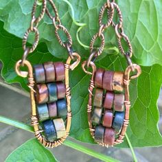 Lots of beautiful colors in these copper hand wrapped Picasso jasper earrings.  Thanks for the ♥️ and comment! www.zerenitytreasures.com Treasures Jewelry, Hand Wrap, Picasso, Jasper, Colors, Earrings, Beautiful, Ear Rings, Stud Earrings