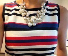 multi-striped & pearls